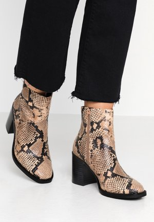 TENLEY - Ankle boot - brown