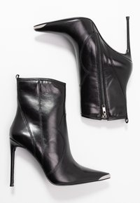 Steve Madden - TINA - High heeled ankle boots - black - 3