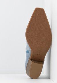 Steve Madden - PHILIPPA - Boots à talons - light blue - 6