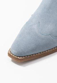 Steve Madden - PHILIPPA - Boots à talons - light blue - 2