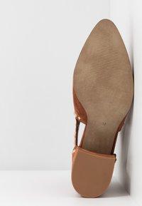 Steve Madden - JUSTINE - Boots à talons - rust - 6