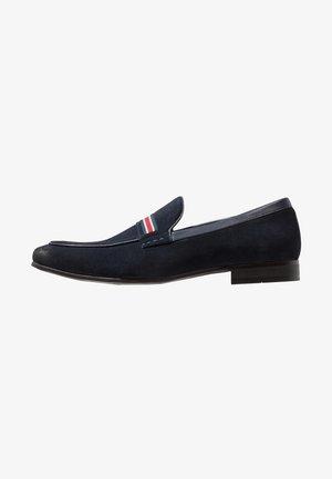 GARNER - Nazouvací boty - navy