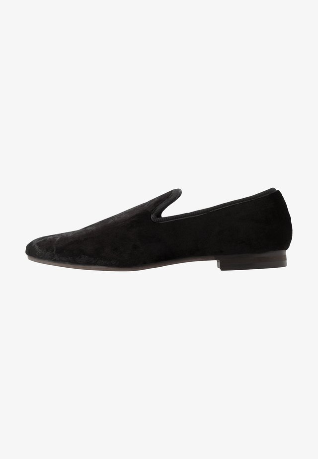 CRUSHED - Loafers - black