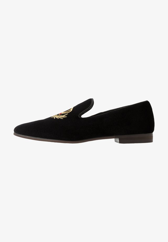 LEONARDO - Slippers - black