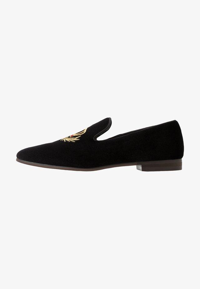 LEONARDO - Loafers - black