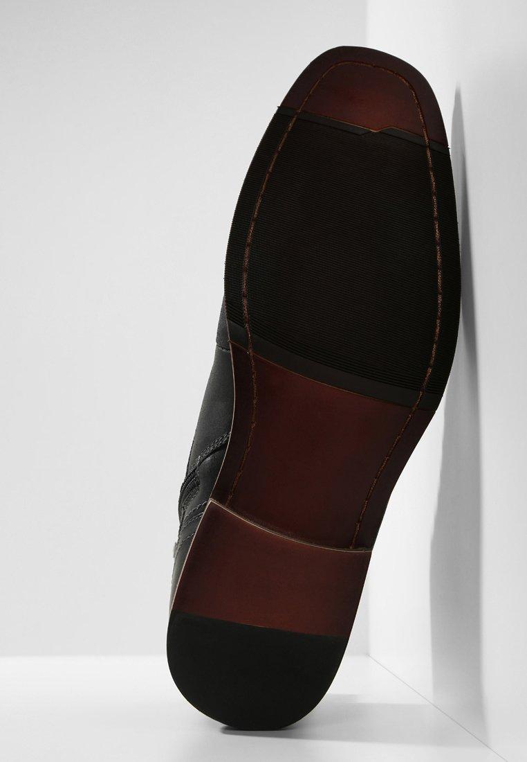 Steve Madden JEFRIES - Bottines à lacets dark grey