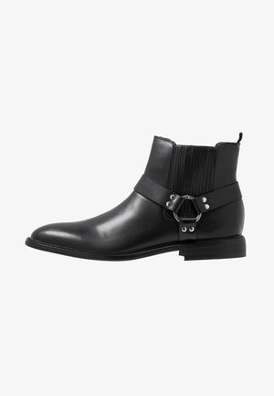 AURAS - Cowboy/biker ankle boot - black