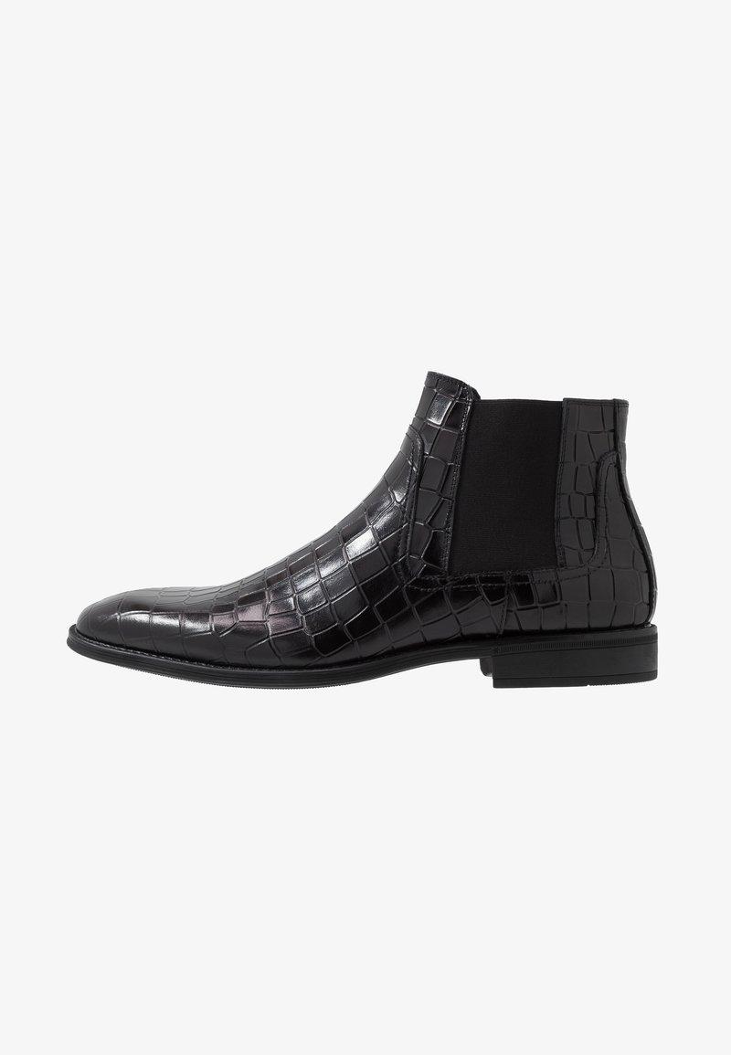 Steve Madden - GOALTER - Kotníkové boty - black