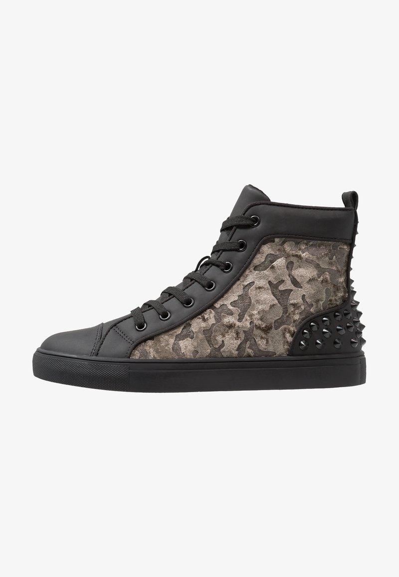 Steve Madden - DIXON - Sneakers hoog - black