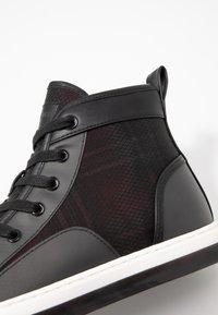 Steve Madden - DISRUPT  - Sneakers hoog - black - 5
