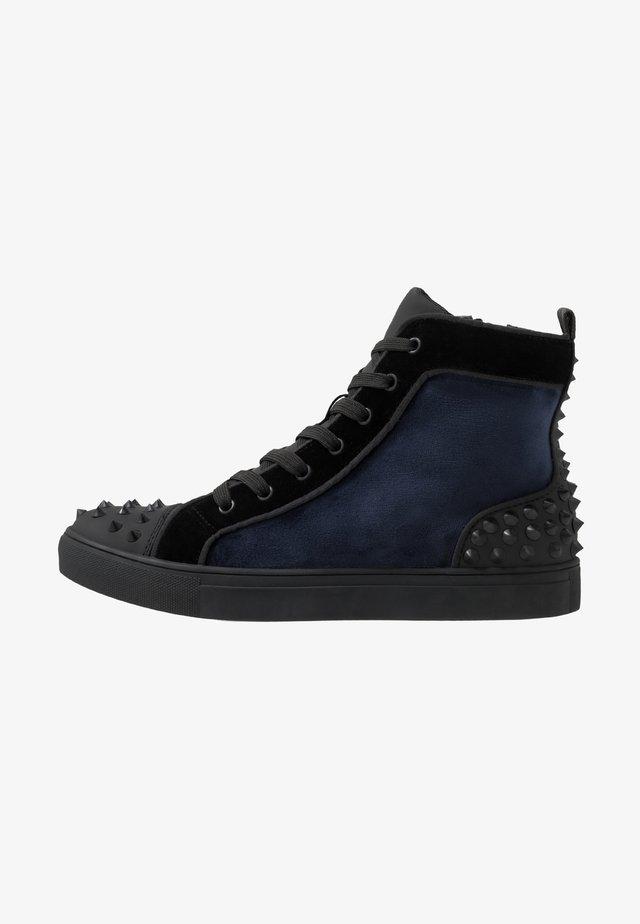 CORDZ - Höga sneakers - navy/multicolor