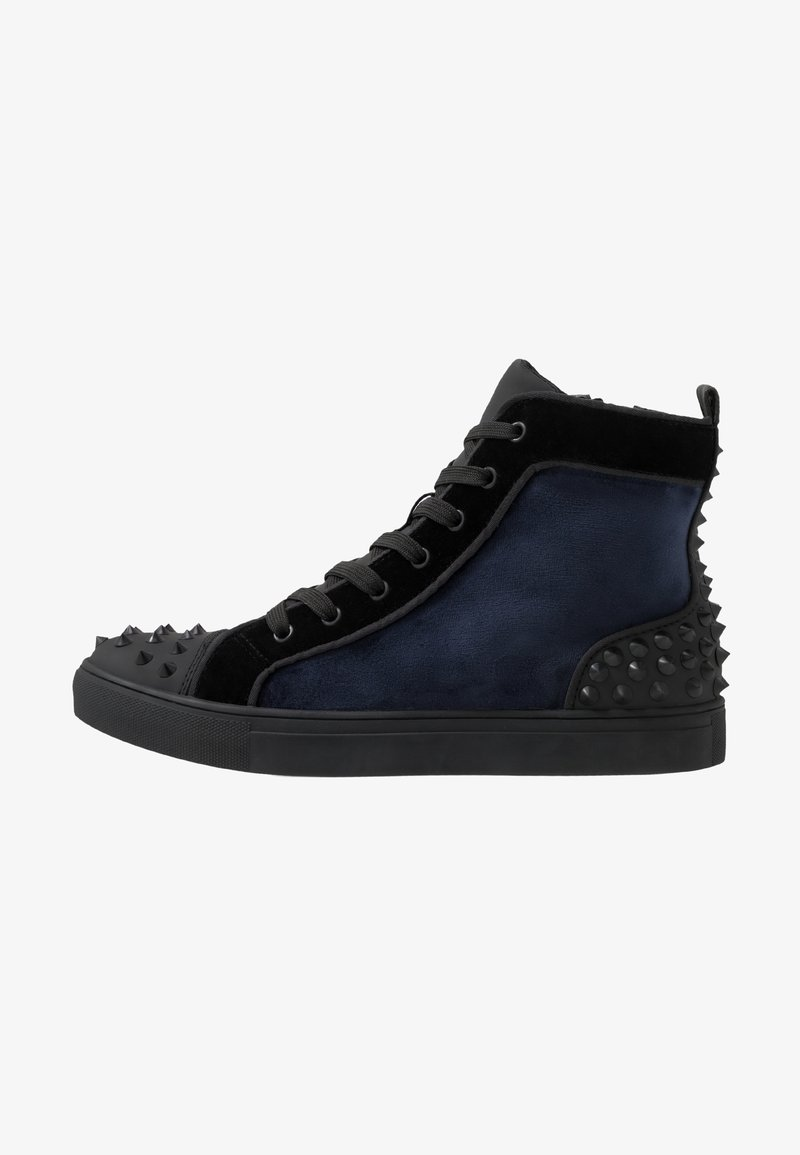 Steve Madden - CORDZ - High-top trainers - navy/multicolor