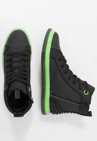Steve Madden - CHAOS - Sneakersy wysokie - emerald - 1