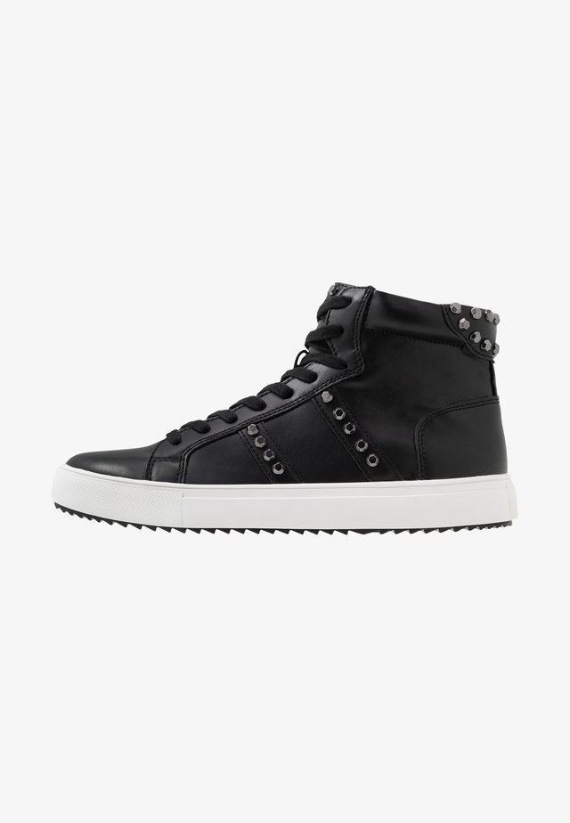 SKALE - High-top trainers - black