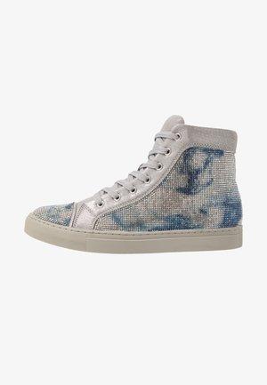MILOUS - Sneakers high - silver mettalic