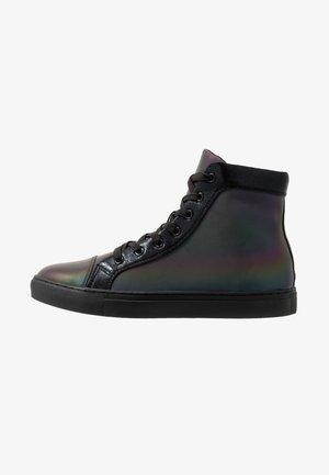 CODED - High-top trainers - iridescent