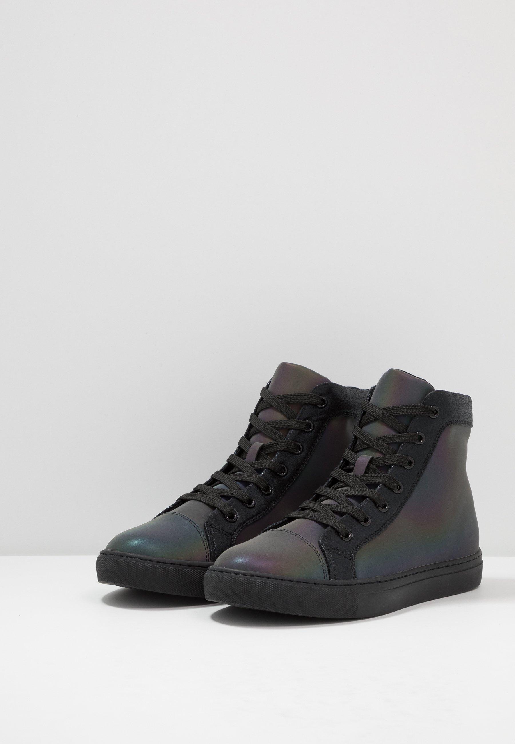 Steve Madden Coded - Höga Sneakers Iridescent