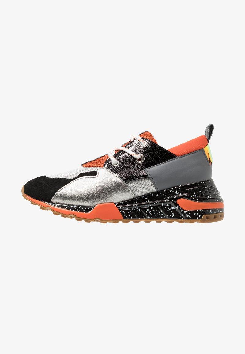 Steve Madden - RIDGE - Sneaker low - black/multicolor