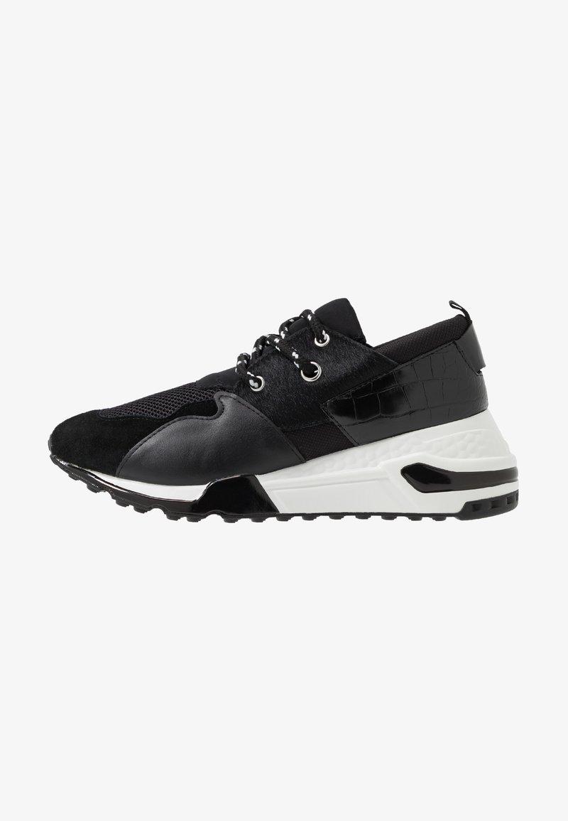 Steve Madden - RIDGE - Sneakers laag - black