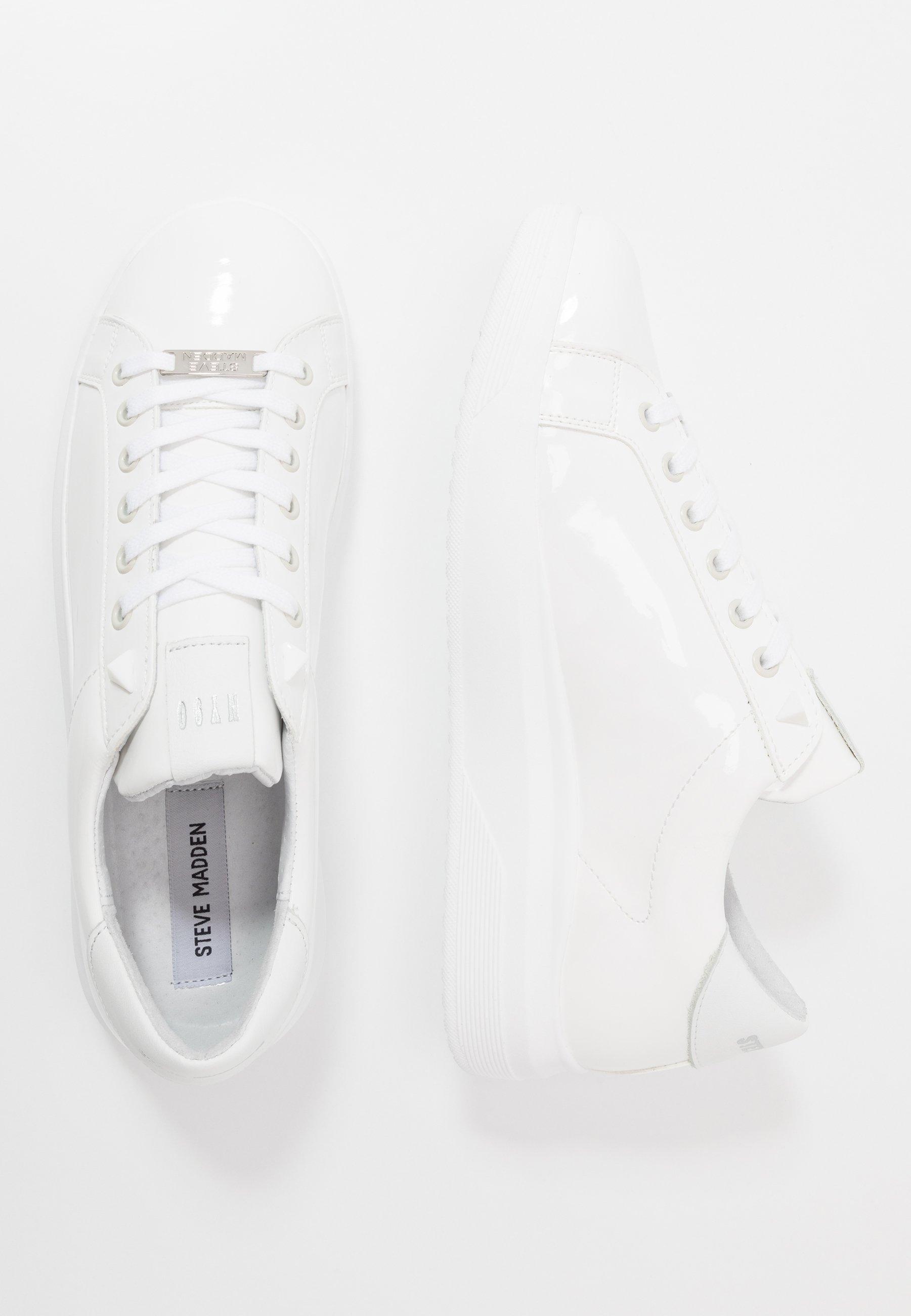 Steve Madden ALEX - Sneakersy niskie - white