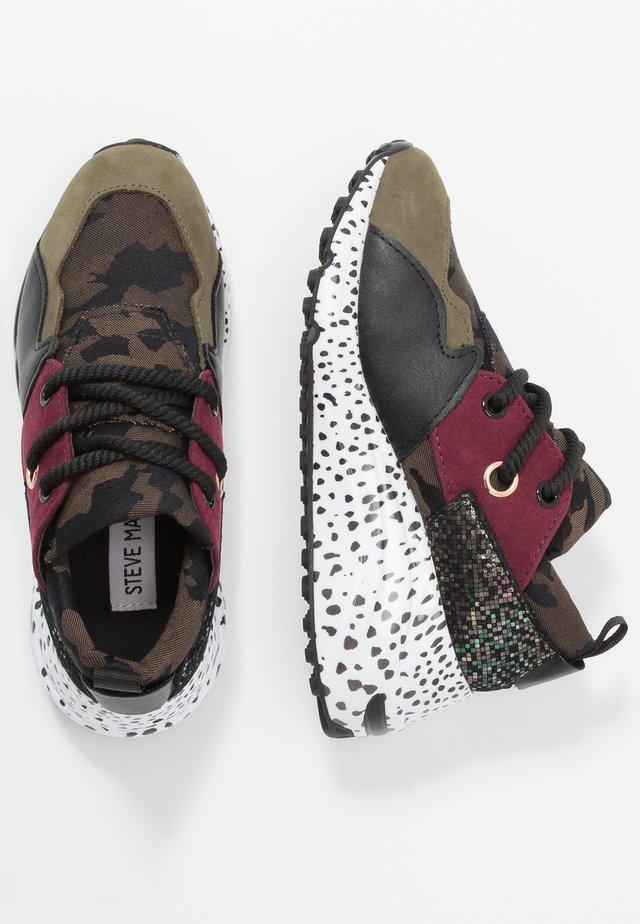 Trainers - olive/multicolor