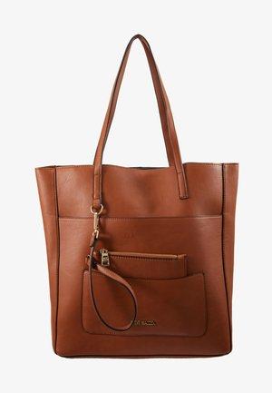 SET - Bolso shopping - cognac