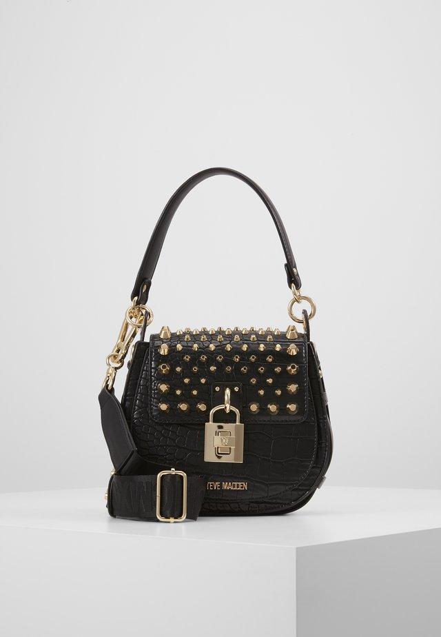 BBRIA - Handtasche - black croco