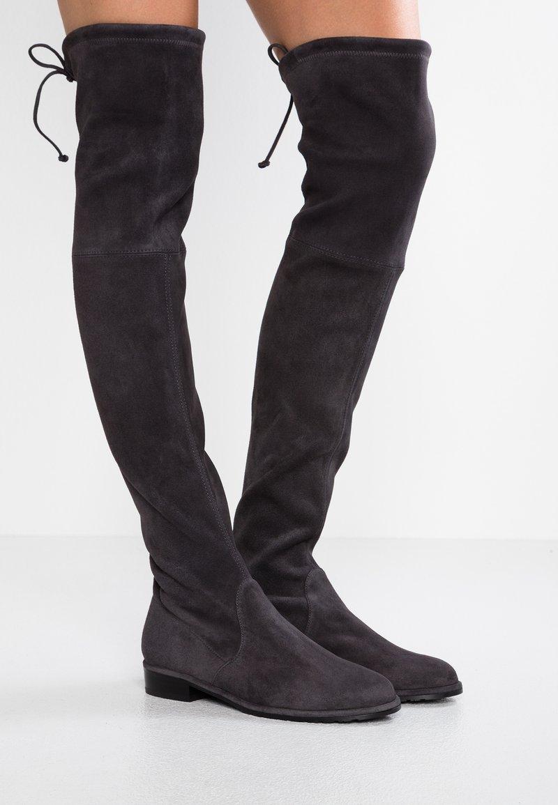 Stuart Weitzman - LOWLAND - Over-the-knee boots - asphalt