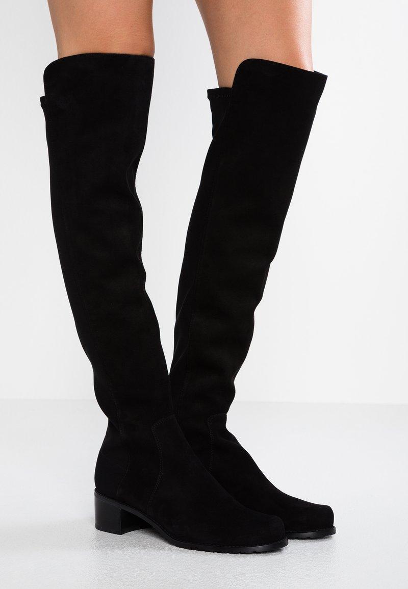 Stuart Weitzman - RESERVE - Over-the-knee boots - black
