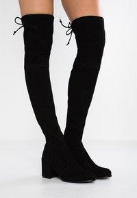 Stuart Weitzman - TIELAND - Over-the-knee boots - black - 0