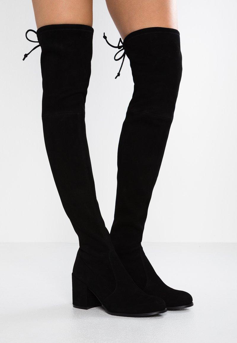 Stuart Weitzman - TIELAND - Over-the-knee boots - black