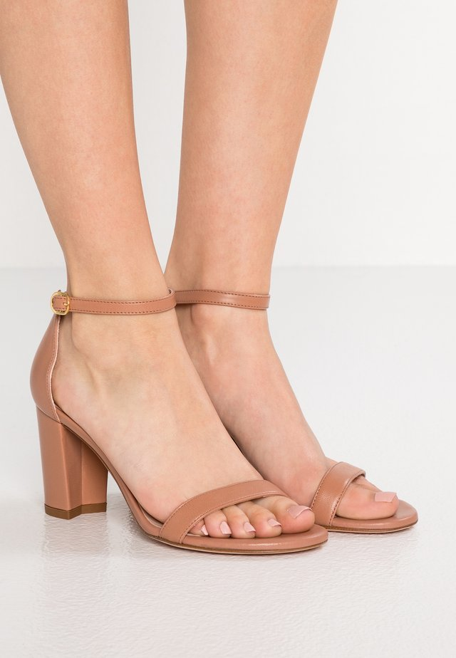 Sandals - toasted blush