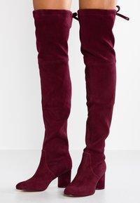 Stuart Weitzman - HELENA - Over-the-knee boots - cabernet - 0