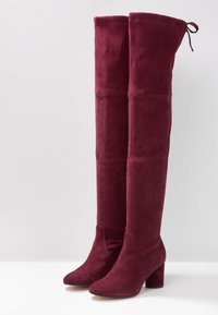 Stuart Weitzman - HELENA - Over-the-knee boots - cabernet - 4