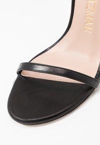 Stuart Weitzman - NUDISTSONG - High heeled sandals - black - 2