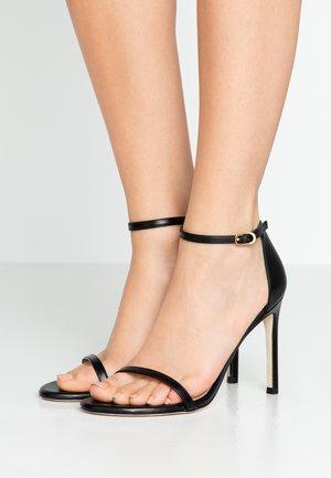 NUDISTSONG - Korolliset sandaalit - black