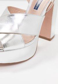 Stuart Weitzman - JONI - High heeled sandals - crackle metallic - 2