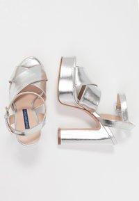 Stuart Weitzman - JONI - High heeled sandals - crackle metallic - 3