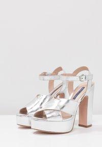 Stuart Weitzman - JONI - High heeled sandals - crackle metallic - 4