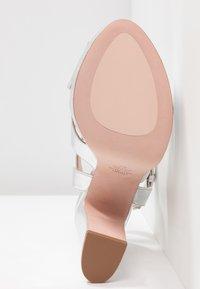 Stuart Weitzman - JONI - High heeled sandals - crackle metallic - 6