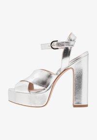 Stuart Weitzman - JONI - High heeled sandals - crackle metallic - 1