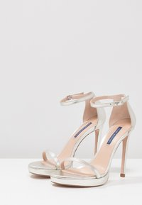 Stuart Weitzman - DISCO - High heeled sandals - silver - 4