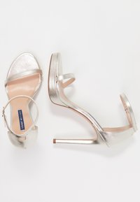 Stuart Weitzman - DISCO - High heeled sandals - silver - 3