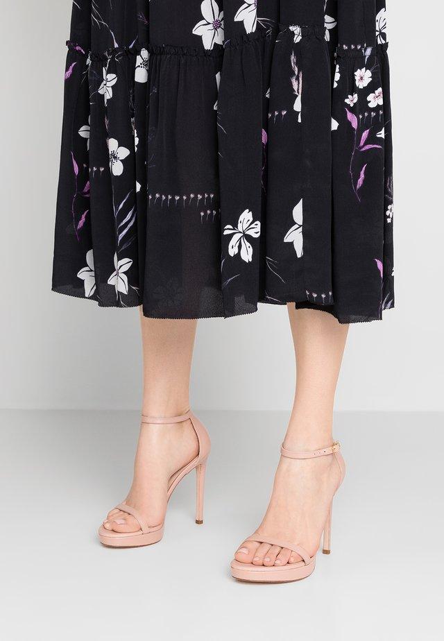 DISCO - Sandalen met hoge hak - buff blush
