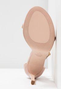 Stuart Weitzman - DISCO - High heeled sandals - buff blush - 6