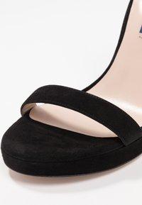 Stuart Weitzman - NEARLYNUDE - Sandály na vysokém podpatku - black - 2