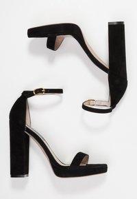 Stuart Weitzman - NEARLYNUDE - Sandály na vysokém podpatku - black - 3