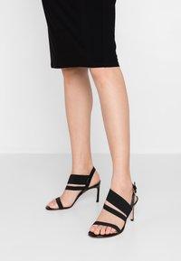 Stuart Weitzman - ADRIENNE - High heeled sandals - black - 0