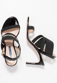 Stuart Weitzman - ADRIENNE - High heeled sandals - black - 3