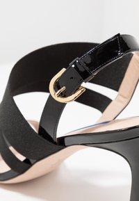 Stuart Weitzman - ADRIENNE - High heeled sandals - black - 2